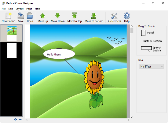 comic creator for kids free software