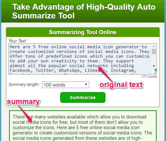 Summarize Text with These 15 Free Online Text Summarizer