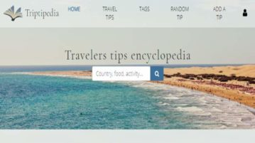 Triptipedia- free travel tips website