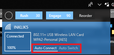 Wifinian auto switch auto connect