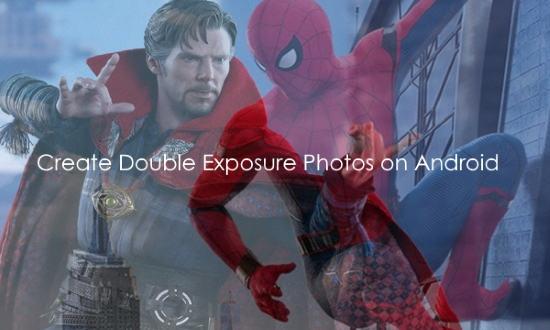 create double exposure photo