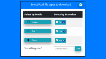 download different file types from a webpage