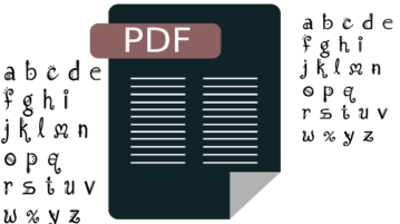 extract font from pdf online