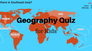 5 Online Geography Quiz For Kids