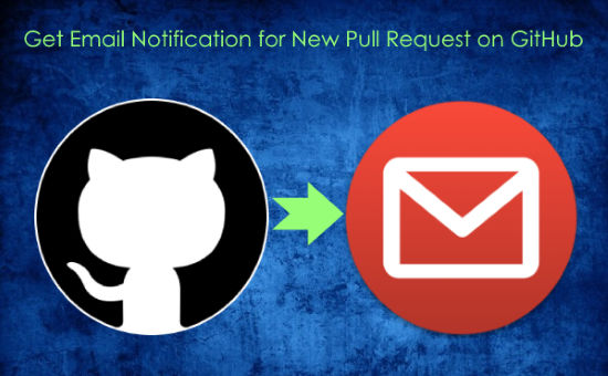 get email notification for new pull request opn github