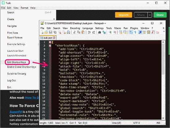 Evernote desktop clients