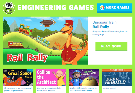 online engineering games for kids