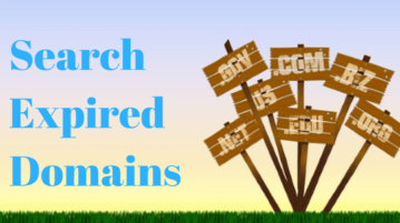 Search Expired Domains with these 5 Free Websites