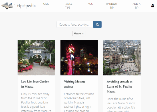 travel tips for macau visible