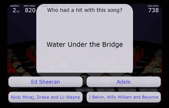 pop music trivia