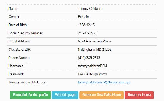 5 Online Random Address Generator Websites Free
