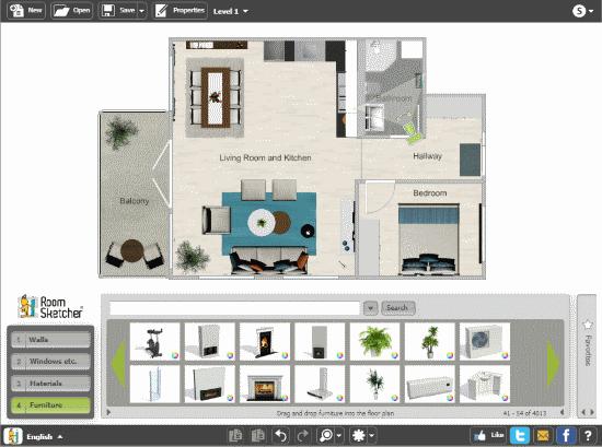 free online floor planner