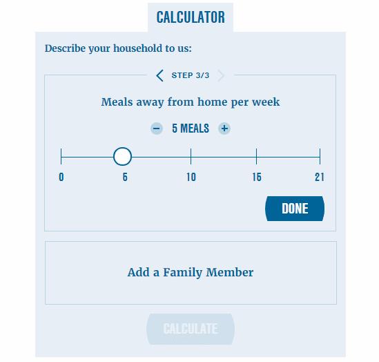online food cost calculator free