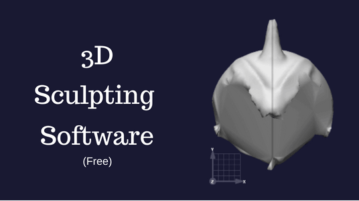 Free 3D Sculpting Software For Windows