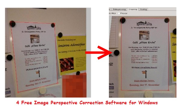 4 Free Image Perspective Correction Software for Windows