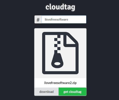 Cloudtag software