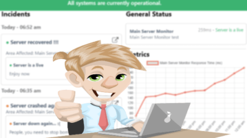 Create Status Page for your site with Uptime Monitoring