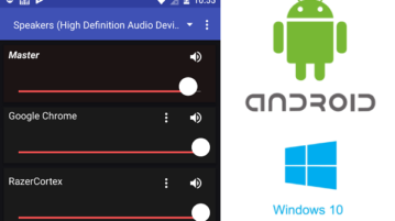 How to Control Volume of PC Applications Separately using Android