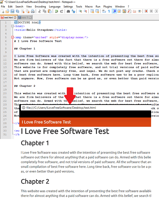How to use Markdown Syntax in HTML Documents