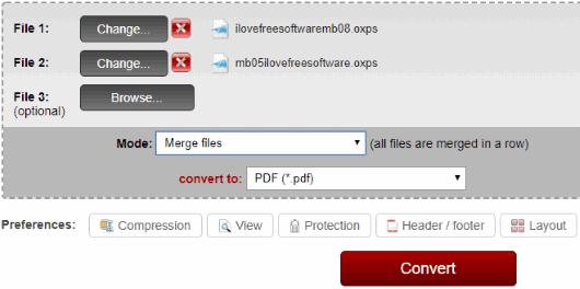 Online2PDF.com OXPS to PDF