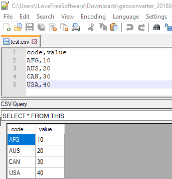 Query CSV Files using SQL in Notepad++ with this free Plugin