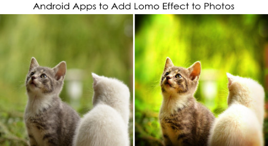add lomo effect to photos