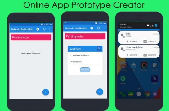 app prototype creator