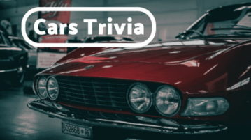 Play Cars Trivia Quizzes Online With These 5 Websites