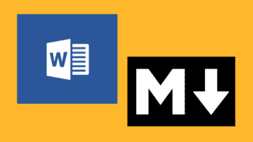 copy ms word data and save as markdown file