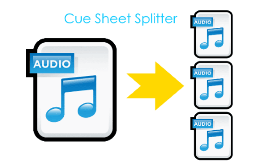 cue sheet splitter