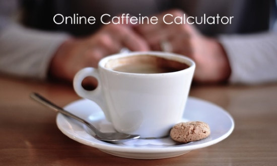 online caffeine calculator