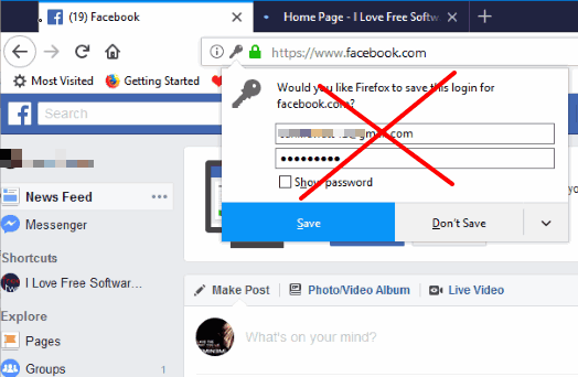 permanently disable password saving prompt in firefox using group policy