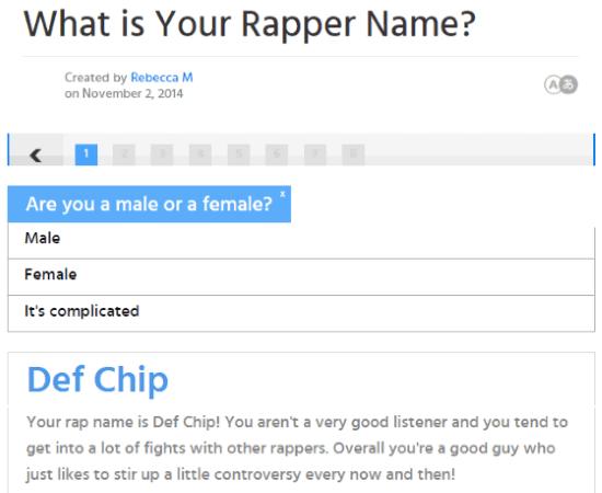 5 Free Online Rap Name Generator