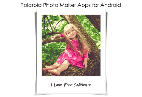 polaroid photo maker