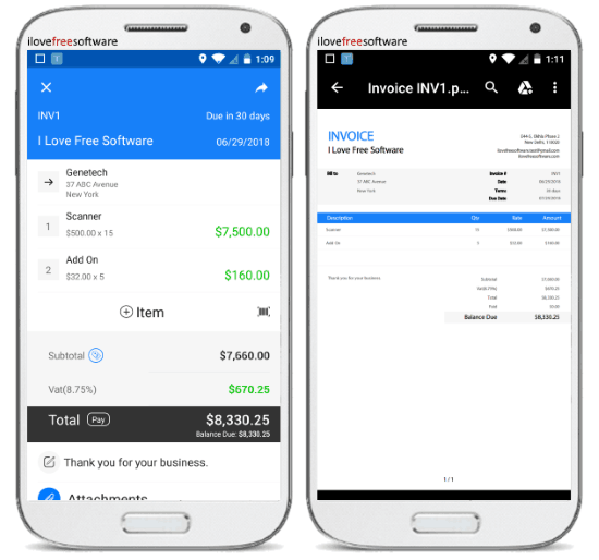10 Free Invoice Generator Apps for Android
