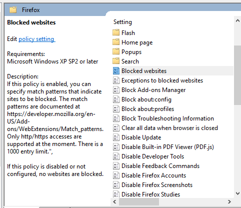 How To Add Group Policy Support To Firefox?