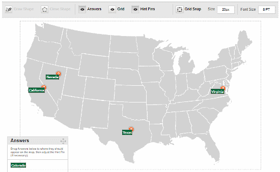 create map quiz online