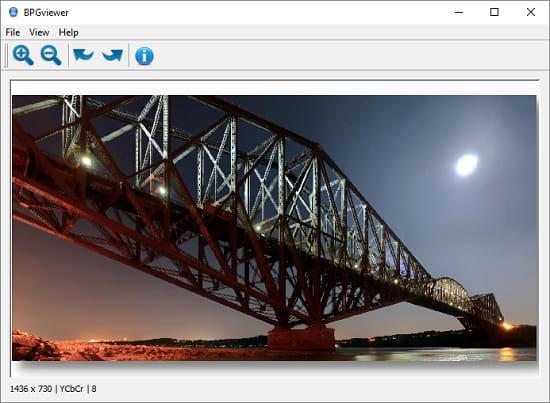open source BPG viewer software for Windows