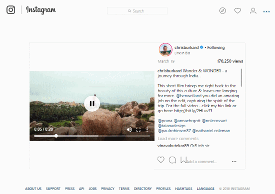 improve Instagram feeds on pc