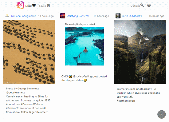 how to improve Instagram feeds on desktop