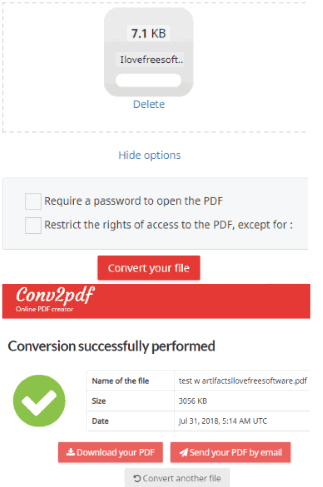 3 Online MDI To PDF Converter Free Websites