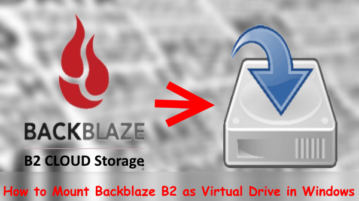 How to Mount Backblaze B2 as Virtual Drive in Windows