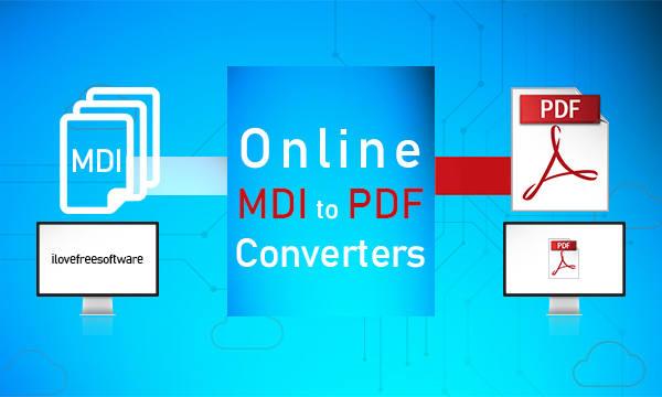 3 Online MDI To PDF Converter Free Websites