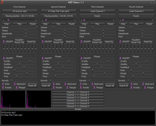 MRT Mixer free audio mixing software