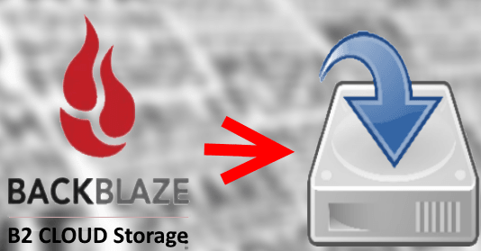 Mount Backblaze B2 as Virtual Drive in Windows