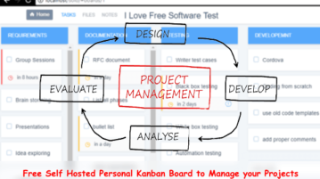 Self Hosted Personal Kanban Board to Manage your Projects