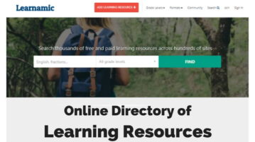 Directory to Search Learning Resources Across Hundreds of Sites