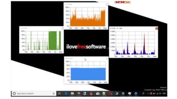 floating windows for ram, disk, cpu usage