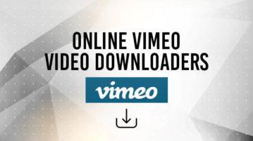 online vimeo video downloaders