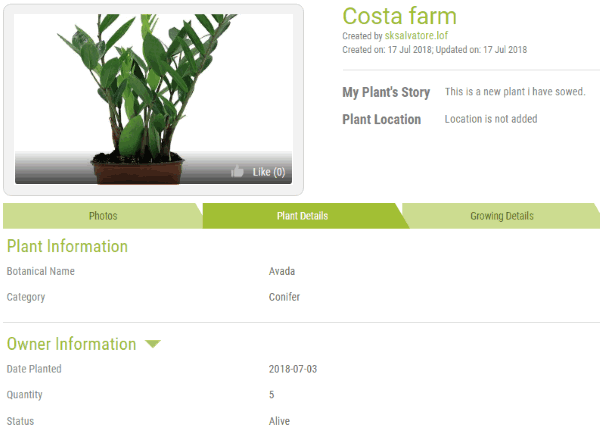 3 Free Online Plant Organizer to Organize and Keep Track of